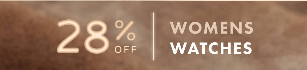 28% off Womens Watches